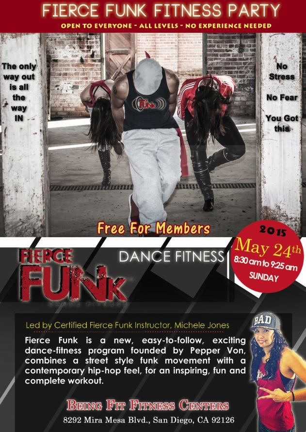 May 24th 8:30am-9:25 Free Sample Class for Members Only!