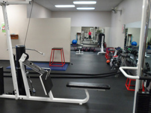 personal training room